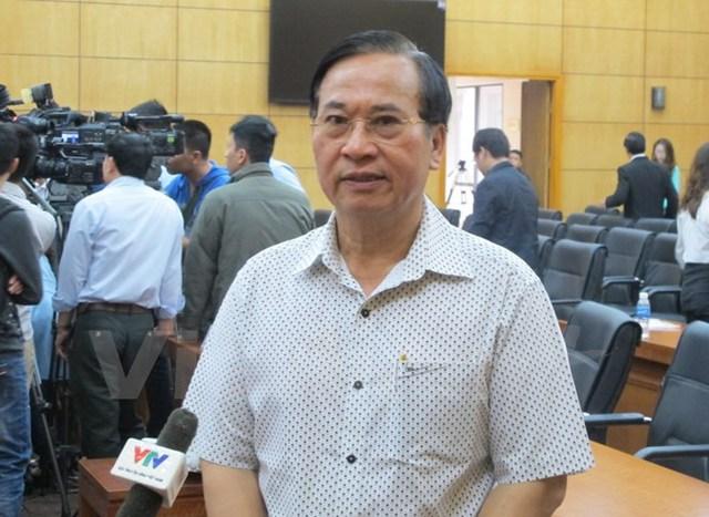 Ông Vũ Đức Giang, Chủ tịch Hiệp hội Dệt may Việt Nam. (Ảnh: Đức Duy/Vietnam+)
