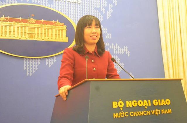 Bà Lê Thị Thu Hằng, Người Phát ngôn mới của Bộ Ngoại giao - Ảnh: Nguyễn Hưởng