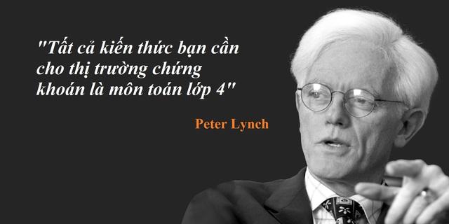 Peter Lynch, phù thủy đầu tư cổ phiếu, tin rằng trí thông minh của một người có thể đánh bại thị trường