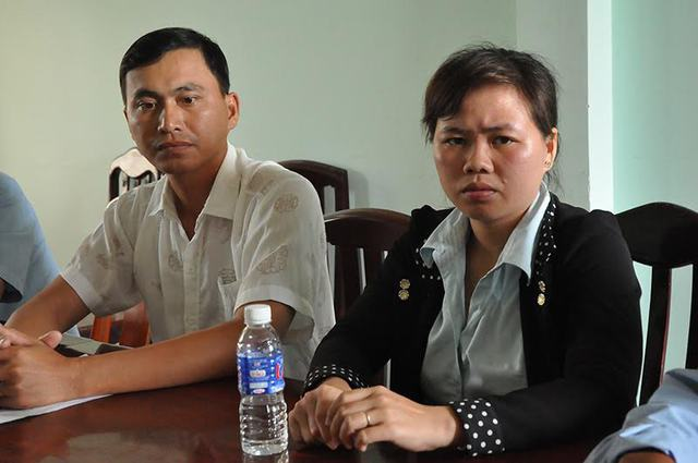 Anh Nguyễn Văn Lịnh và chị Bùi Thị Tuyết Ngà