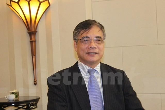 Tiến sỹ Trần Đình Thiên. (Ảnh: Đức Duy/Vietnam+)
