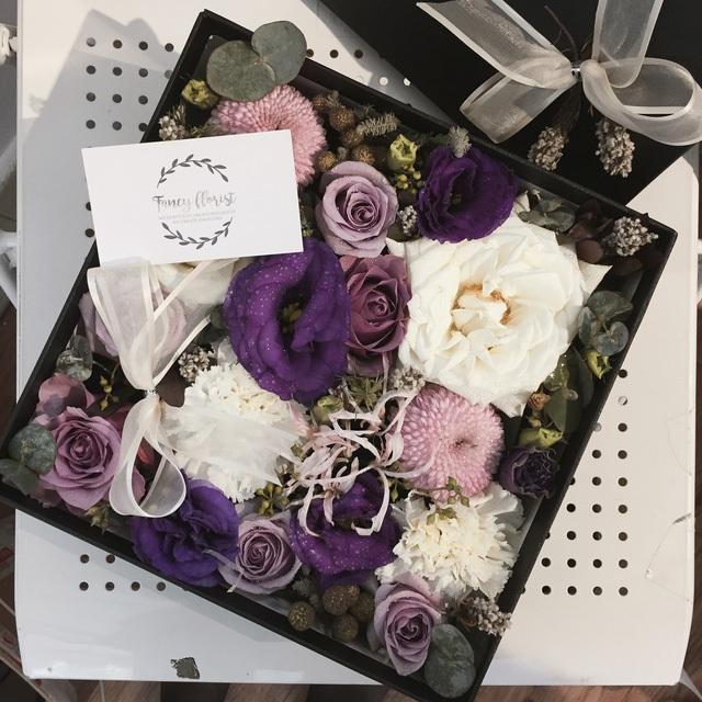 Sản phẩm hoa dạng hộp của startup Fancy Florist