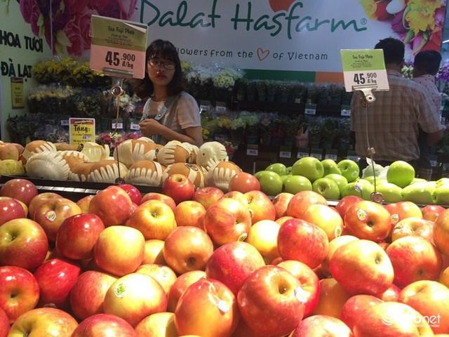 Hoa quả nhập khẩu ngày càng rẻ