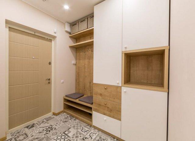 Căn hộ được thiết kế đẹp và vô cùng tiện nghi ngay lối vào nhà.