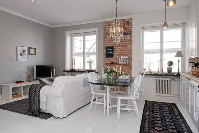 Với diện tích 30m2 căn hộ có đầy đủ các không gian chức năng: bếp, phòng khách, phòng ngủ à khu vệ sinh.