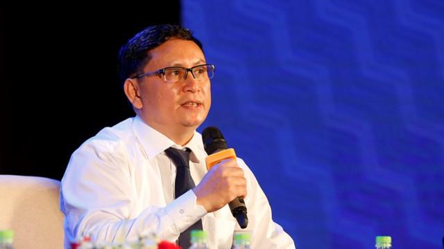 Ông Nguyễn Sơn – Chủ tịch HĐQT Trung tâm Lưu ký chứng khoán Việt Nam (VSD). Ảnh: Chu Văn Hoàn