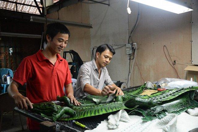Các cơ sở, doanh nghiệp chăn nuôi cá sấu thừa nhận đây là giai đoạn khó khăn nhất của ngành này
