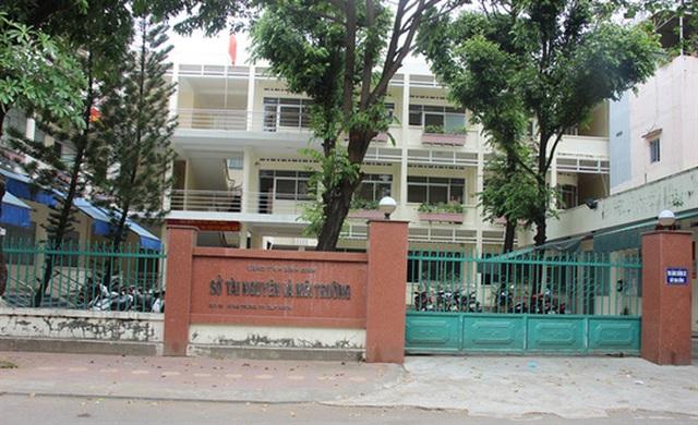Sở TN-MT Bình Định hiện giờ chỉ còn 3 phó giám đốc sở