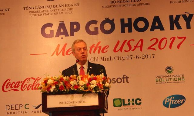 Đại sứ Mỹ tại Việt Nam Ted Osius (Ảnh: Văn Bình)