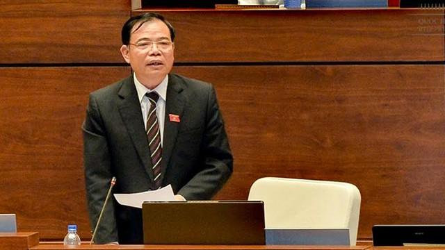 Bộ trưởng Nguyễn Xuân Cường. Ảnh: Hoàng Anh