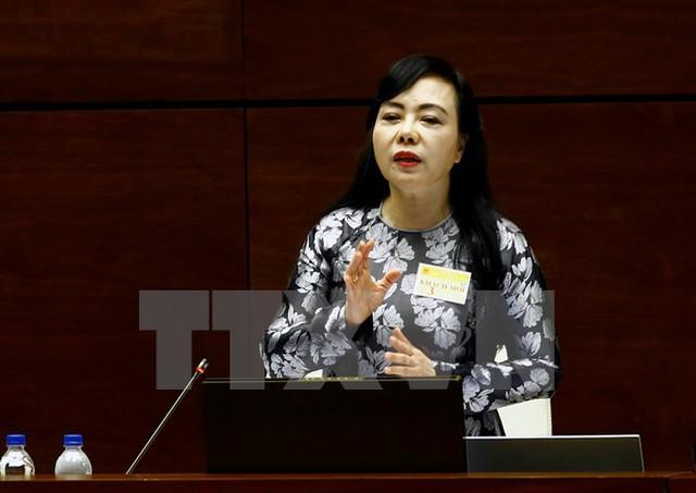 Bộ trưởng Bộ Y tế Nguyễn Thị Kim Tiến. (Ảnh: TTXVN)