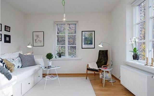 Nhờ vào tài sắp xếp và bố trí không gian hợp lý, không ai nghĩ rằng căn hộ này chỉ có diện tích 36m2.