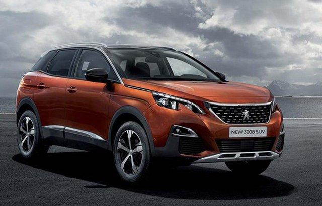 Mẫu Peugeot 3008 cũng được giảm giá mạnh.
