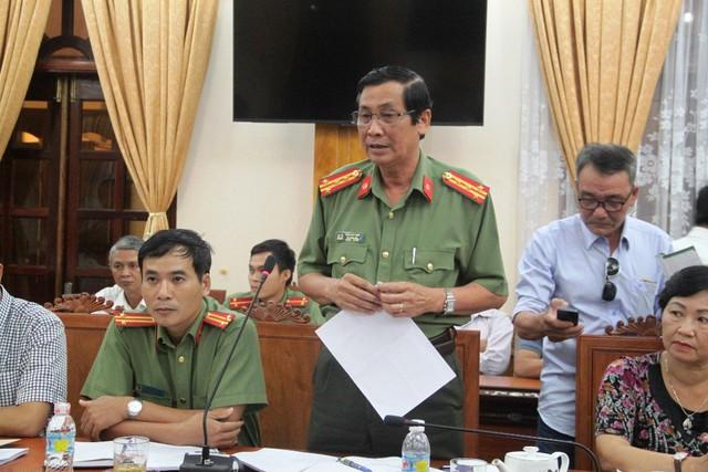 Đại tá Trần Huy Giáp, Phó giám đốc Công an tỉnh Bình Định