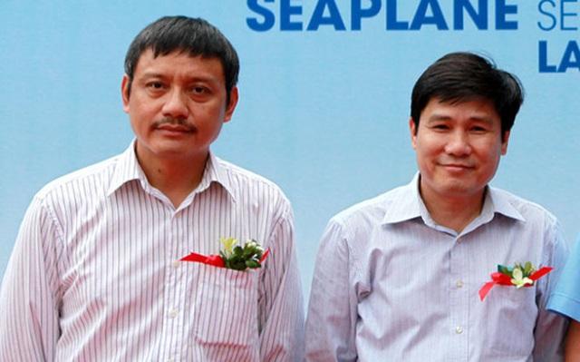 Ông Phạm Việt Dũng (trái) sẽ thay ông Đinh Việt Thắng (phải) làm Chủ tịch HĐQT VATM - Ảnh: TTO