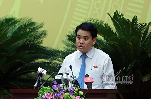 Chủ tịch UBND TP Nguyễn Đức Chung. Ảnh: Phạm Hải