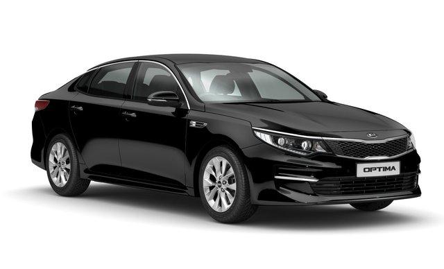 Kia Optima cũng được giảm giá.