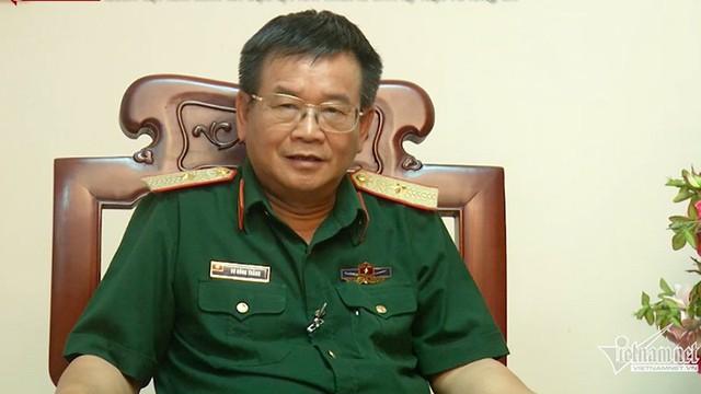 Thiếu tướng, TS Võ Hồng Thắng, Cục trưởng Cục Kinh tế, Bộ Quốc phòng chia sẻ về chủ trương xây dựng kinh tế trong Quân đôi (ảnh: Phạm Huyền)