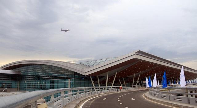 Toàn cảnh nhà ga quốc tế sân bay Đà Nẵng