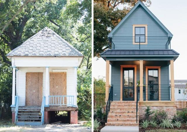 Một diện mạo hoàn toàn khác của ngôi nhà sau khi được cải tạo.