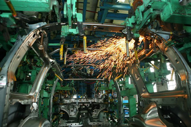 Ô tô Việt trông chờ vào sự phát triển của công nghiệp phụ trợ