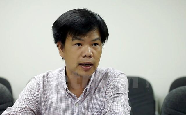 Ông Nguyễn Hữu Tuấn, Trưởng phòng Quản lý hoạt động Thương mại điện tử, Cục Thương mại điện tử và Công nghệ thông tin, Bộ Công Thương. (Ảnh: Doãn Đức/Vietnam+)