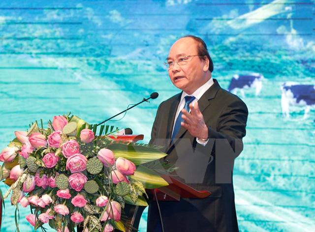Thủ tướng Nguyễn Xuân Phúc phát biểu. (Ảnh: Doãn Tấn/TTXVN)