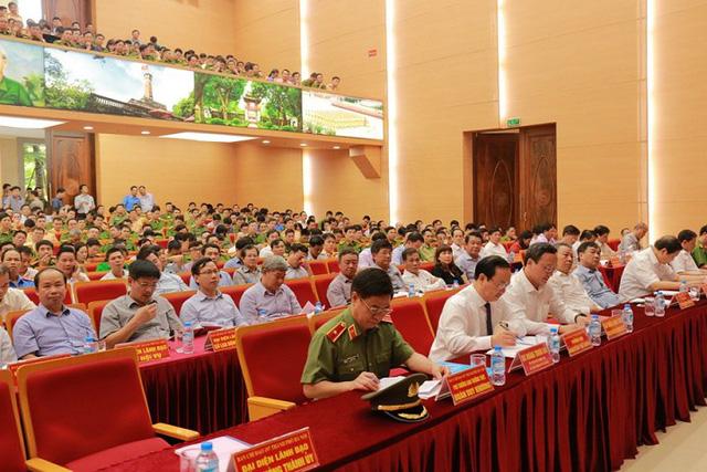 Ban chỉ đạo 197 Hà Nội họp sơ kết 6 tháng đầu năm 2017.
