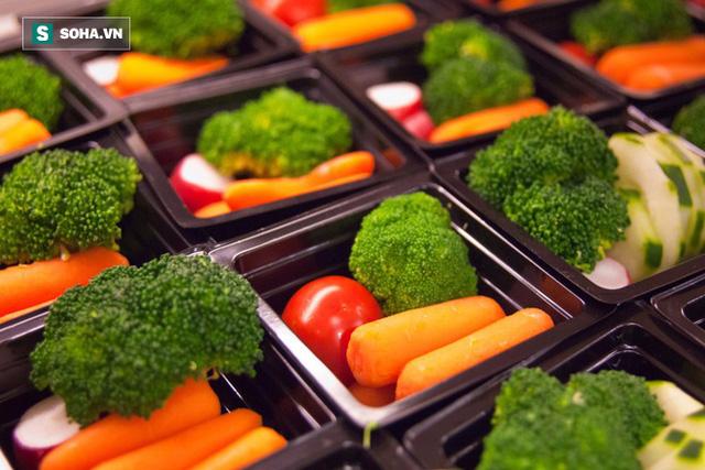 Trong chế độ giả nhịn ăn, nguồn cung cấp carbohydrate đến từ các loại rau (Ảnh minh họa).