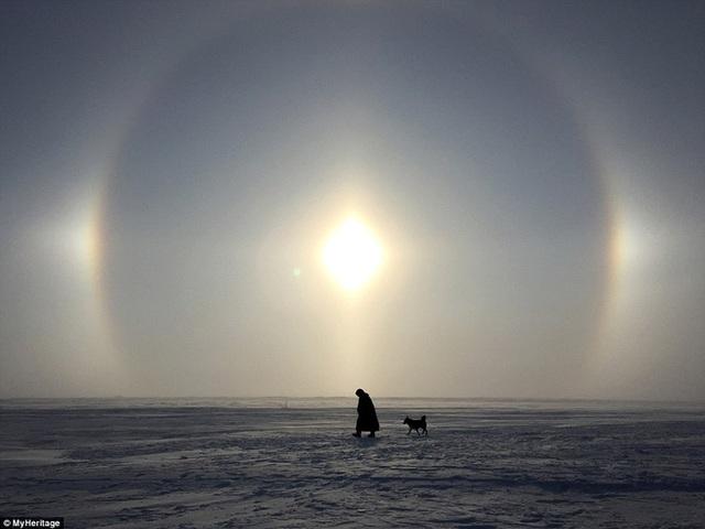 Nhiệt độ trong những tháng mùa đông có thể hạ thấp xuống -50 độ C.