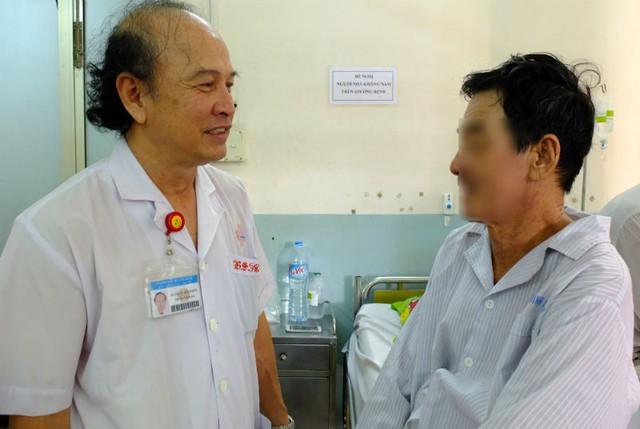 Người bệnh phục hồi nhanh chóng sau ca phẫu thuật
