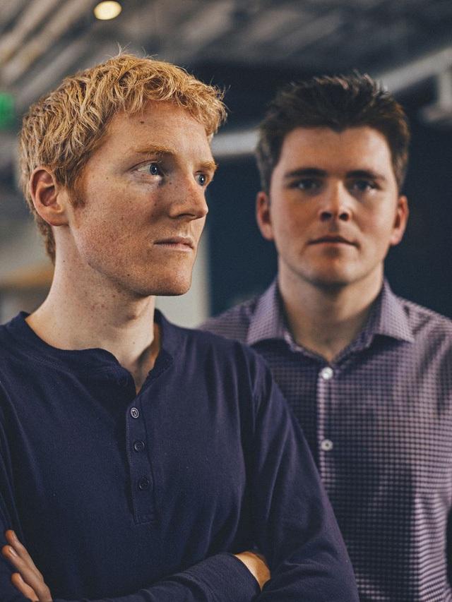 2 anh em Collison là những tỷ phú trẻ nhất thế giới