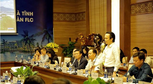 Chủ tịch Hà Tĩnh: Tập đoàn FLC hãy tận dụng cơ hội, sớm triển khai dự án trên địa bàn tỉnh - ảnh 3