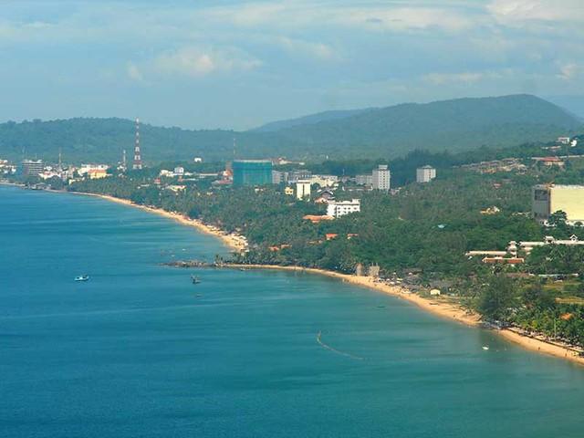 Phú Quốc (Kiên Giang) là một trong ba đơn vị sẽ trở thành đặc khu. Trong ảnh: Một góc Phú Quốc nhìn từ phi cơ. Ảnh: HTD