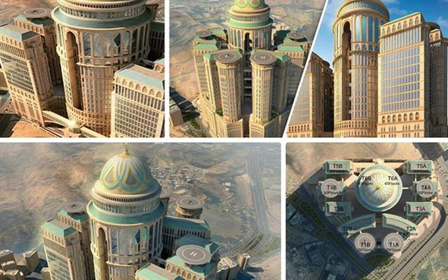 Khách sạn Abraj Kudai được kỳ vọng sẽ là pháo đài trên sa mạc ở thành phố Mecca - thánh địa của đạo Hồi, với khoảng 10.000 phòng.