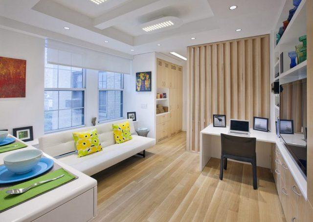 Mọi thứ trong nhà được bố trí vô cùng đơn giản và gọn gàng, cuộc sống trong căn hộ nhỏ tưởng chật chội mà hóa như trong mơ.