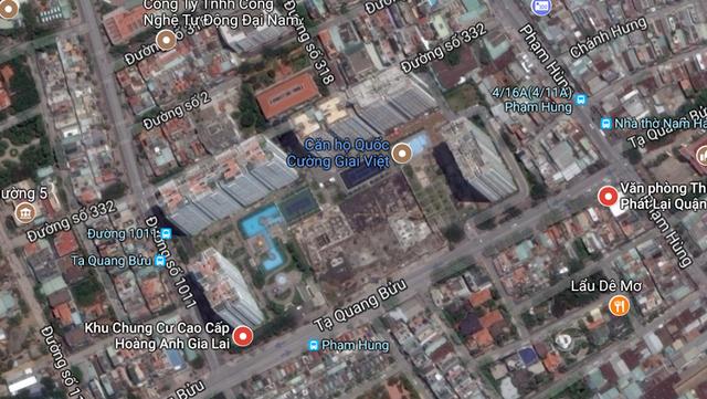 Hình ảnh khu dự án Giai Việt Residence