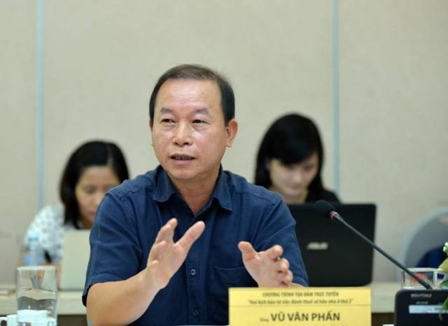 Ông Vũ Văn Phấn: Đánh thuế nhà thứ 2 trở đi cần phải được tính toán để không ảnh hưởng tới những người nghèo, những người chỉ có một nhà để ở- Ảnh: Chân Luận