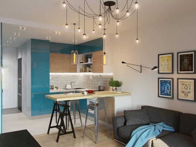 Không ai nghĩ rằng căn hộ tuyệt đẹp này lại có diện tích chỉ 30m2.