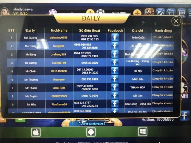 Vinplay đội lốt game online tổ chức đánh bạc trái phép - ảnh 2