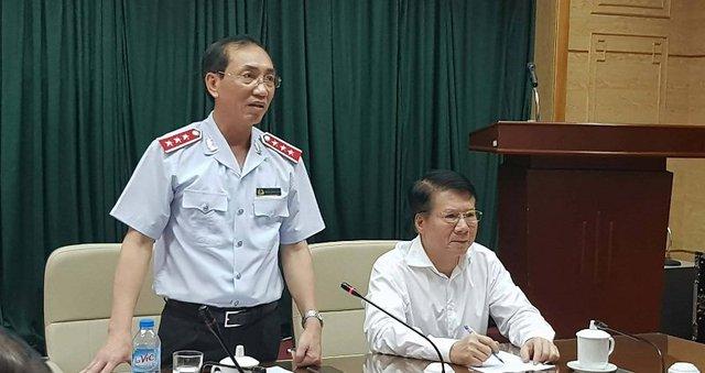 Phó Tổng thanh tra CP Đặng Công Huẩn