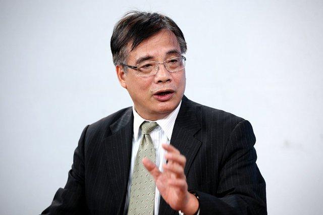 Viện trưởng Viện Kinh tế Việt Nam Trần Đình Thiên. Ảnh: Lê Anh Dũng