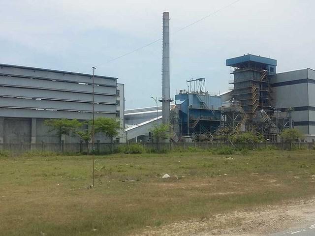 Dự án Nhà máy sản xuất xơ sợi polyester Đình Vũ (PVTex). Ảnh: HẢI ĐƯỜNG