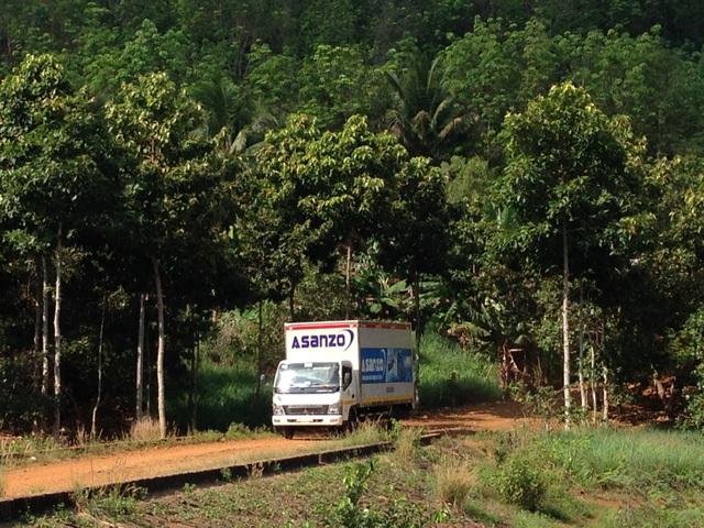 Những sản phẩm của Asanzo được đưa đến khắp mọi miền nhờ hệ thống phân phối lớn