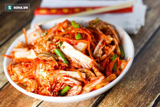 Kim chi Hàn Quốc cũng là món chứa nhiều lợi khuẩn