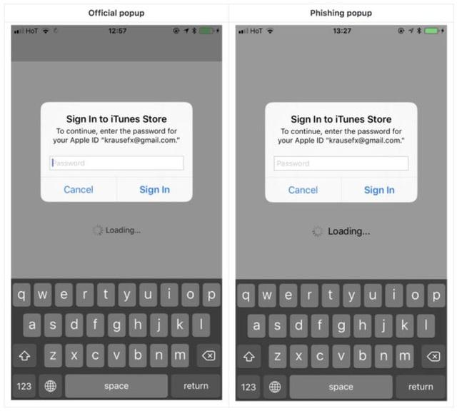 Hacker giả mạo box đăng nhập trên iOS để lấy cắp mật khẩu - thủ đoạn mới cực kỳ tinh vi - ảnh 3