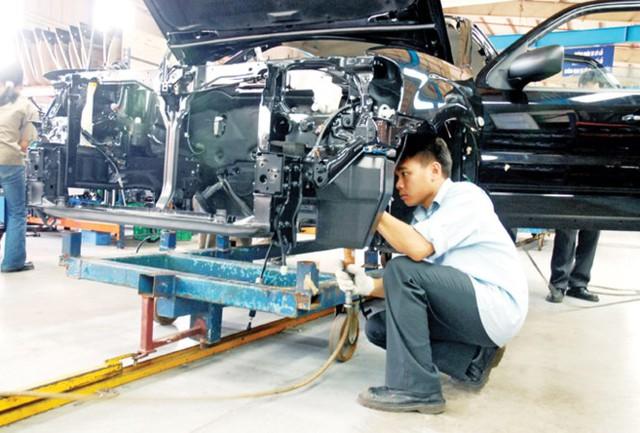 Ngành công nghiệp cơ khí bị tác động nhiều nhất.