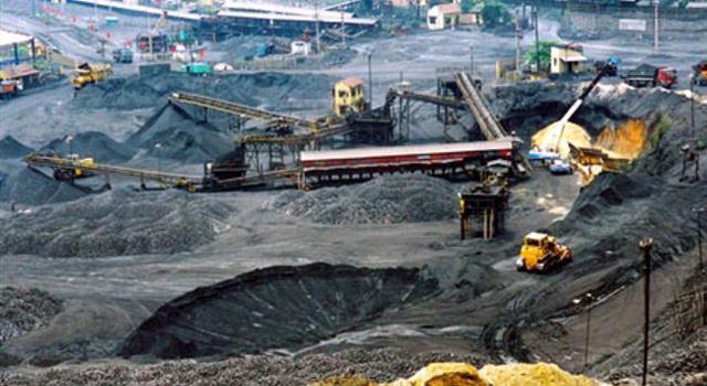 Khai thác than của Tập đoàn TKV.
