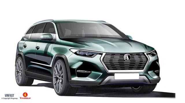 Một trong số 20 mẫu xe Vinfast được Vingroup trưng cầu ý kiến người tiêu dùng Việt.