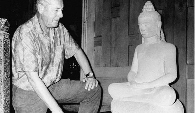 Ông Thompson ở Bangkok vào tháng 11-1966 Ảnh: AP